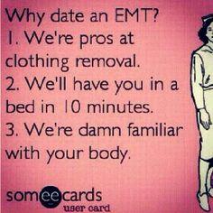 Date an EMT