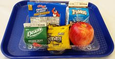 A grab-and-go breakfast option from Cincinnati Public Schools. Grab-and-go options provide a balanced breakfast for students to take into the classroom.
