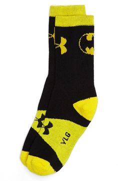 Under Armour 'Alter Ego - Batman' Crew Socks (Big Kid) available at #Nordstrom