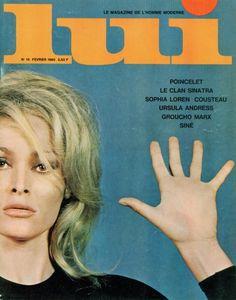 Ce Lui n°14 de Février 1965 reprend un portfolio d'Ursula Andress paru précédemment dans Playboy...