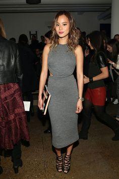 bddf05302a Jamie Chung from Stars at New York Fashion Week Fall 2015