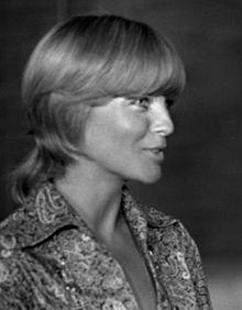 Romy Schneider le 23 juin 1971.