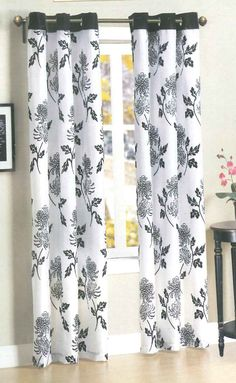 Pretty Curtains Found At Family Dollar For 1050 Panel Tree Cool Things