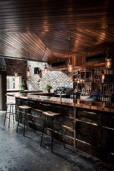 Дизайн интерьера кафе в стиле лофт
