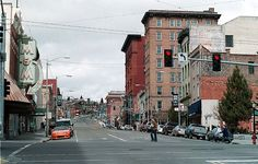 This is uptown Butte, Montana where I grew up.