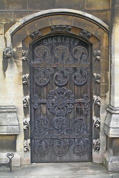 sacristy door |