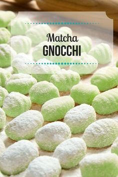 Satisfy your pasta cravings with an antioxidant-rich dinner of matcha green tea gnocchi. This simple recipe is a great way to introduce something new to the dinner table. #matcha #gnocchi