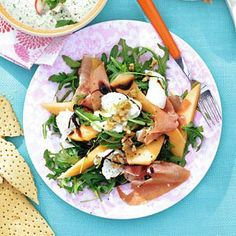 Recept - Rucolasalade met mozzarella - Allerhande