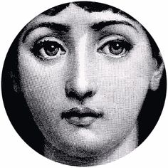 Piero Fornasetti (10 November 1913 - 1988) was an Italian painter, sculptor, interior decorator and engraver.    He created more than 11,000 items, many featuring the face of a woman, operatic soprano Lina Cavalieri, as a motif.