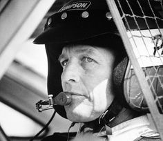 Paul Newman sits in his Nissan 300ZX Turbo before the start of qualifying race at Riverside International Raceway in Los Angeles, Ca., Saturday, Oct. 6, 1984.