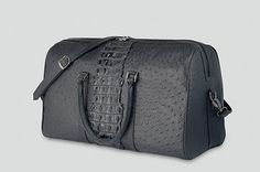 Photo from Adele  collection by André Visser Photography TRAVELBAG MEN'S OSTRICH & CROCTAIL Adele, Travel Bags, Luxury, Photography, Collection, Design, Fashion, Travel Handbags, Moda