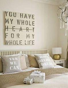 Romanitc bedroom decorating