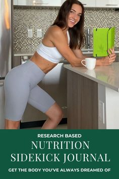 The Nutrition Sidekick Journal is your research-based book, journal, and coach all in one.Fully customizable to work with ANY eating style.Plan out what you want to eat each day, then record what you ACTUALLY ate to get held accountable.New tips, mindsets, and challenges every day to ultimately get you HAPPY with your body and to stick with your plan. All In One, You Got This, Thick And Fit, Daily Challenges, Incredible Recipes, Healthy Eating Habits, Fitness Journal, Achieve Your Goals, Guided Meditation