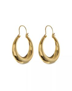 Luv Aj - Martina Tubular Hoop Earrings