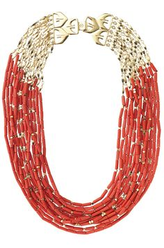 Stella & Dot Campari Necklace  www.stelladot.com/kariheese  Great for Summer!