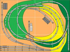 Mike's Small Trackplans Page N Scale Train Layout, Ho Train Layouts, N Scale Layouts, N Scale Model Trains, Scale Models, Model Railway Track Plans, Garden Railroad, Ho Trains, Thing 1