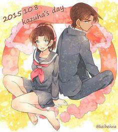 Kazuha and Heiji