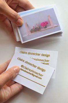 DIY Business Card Ideas