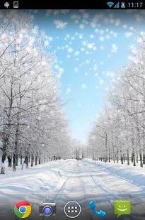 Iarna zapada live Wallpaper– captură de ecran miniatură