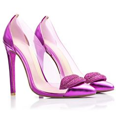 Saving it All - Kandee Shoes Berry Kiss Pumps