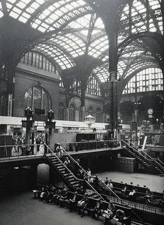 New York City 1960s Old Pennsylvania Station