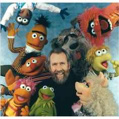 I love these pictures with Jim Henson