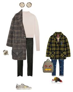 """""""Mother and daughter outfit 🐨🐨🐨"""" by alexdneprova on Polyvore featuring мода, Vetements, Dion Lee, MANGO, Golden Goose, Yves Saint Laurent, Miu Miu, Gucci, Dolce&Gabbana и Scotch & Soda"""