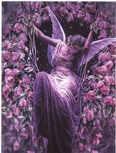 themagicfarawayttree: purple angel