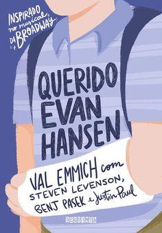 Querido Evan Hansen by Val Emmich - Books Search Engine Dear Evan Hansen Book, Dear Evan Hansen Musical, Querido Evan Hansen, Books To Read, My Books, Cool Books, Read Later, Book Cover Design, Romance Books