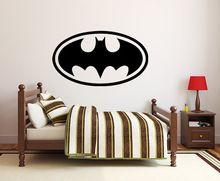 Cool Batman jelentkezzen Fali matrica Könnyen kivehető vízálló PVC környezeti…