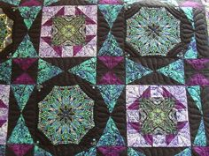 Paula Nadelstern quilt   Pieced by Maralyn Claycomb Quilted …   Flickr