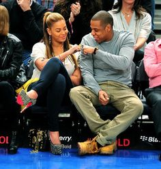 beyonce and jay z...their friendship