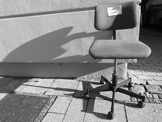 Munich street life - chair for free