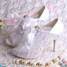 Lace Wedding Boots   New-Designer-Peep-Toe-Lace-Wedding-Shoes-with-Lace-up.jpg
