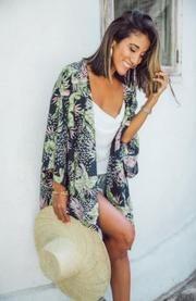 San Jose Paradiso Kimono Bohemian Style, Boho, Crochet Cape, Barefoot Blonde, Indian Summer, San Jose, Capes, Fashion Online, Kimono Top