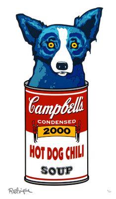 George Rodrigue, Blue dog