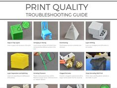 New Guide Makes It Easy for Anyone to Improve Their 3D Print Quality