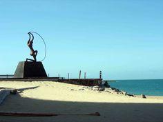 Praia de Iracema, Fortaleza, Brasil. Foto: Leandro Bispo