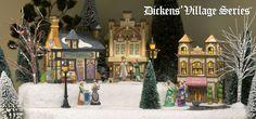 Department56 - Villages, Ready to Display Collections, Dickens' Street Shoppes