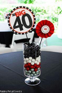 Centro mesa 40 años