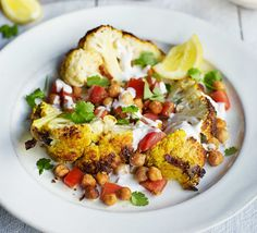 Roast a whole cauliflower to lock in flavour and make an impressive centrepiece - cut at the table or serve in wedges
