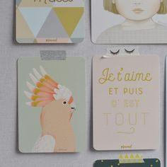 carte postale Mitch Minimel - deco-graphic.com