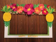 Resultado de imagen para fiesta hawaiana photobook