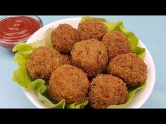 Chiftele de post din ciuperci, prajite sau la cuptor (potrivite si ca aperitiv) - YouTube