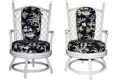Asian-Style Chairs, Pair on OneKingsLane.com