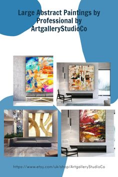 """""""UNSTRETCHED/UNFRAMED PAINTING""""✔ Oil and Acrylic Paintings for Wall Décor.✅ Our Paintings are 100% Handmade and Original.🖌 Texture and brush strokes in these paintings you will surely admire.🎨 We have used High Quality Oil and Acrylic Colors on cotton canvas.🔷 You will receive an UNSTRETCHED/UNFRAMED Artwork, they are not framed for safe delivery.🎀 Large Abstract Art by professional artists. Large Canvas Wall Art, Extra Large Wall Art, Oversized Wall Art, Large Painting, Acrylic Colors, Acrylic Paintings, Wall Décor, Brush Strokes, Cotton Canvas"""