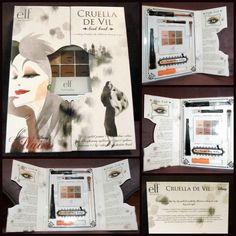 elf DISNEY VILLAINS CRUELLA DE VIL Look Book Makeup Kit Limited Edition NIB Rare #elf