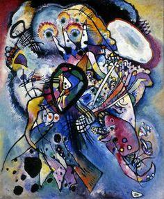 Wassily Kandinsky, 'Due Ovali'