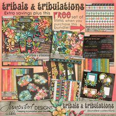 Tribals & Tribulations ~ Bundled Collection (huge savings if you purchase the bundle!)