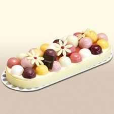 Tarte glacée aux fruits